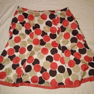 Cato Woman Polka Dot Skirt 16W Plus Size Knee